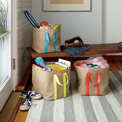Color Fill Floor Bin