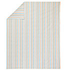 Full-Queen Multi Stripe Construction Duvet Cover