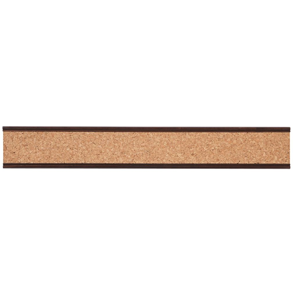 Straight and Narrow Cork Rail (Espresso)