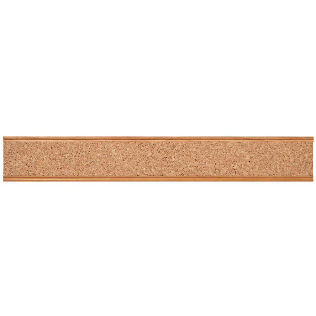 Straight and Narrow Cork Rail (Natural)