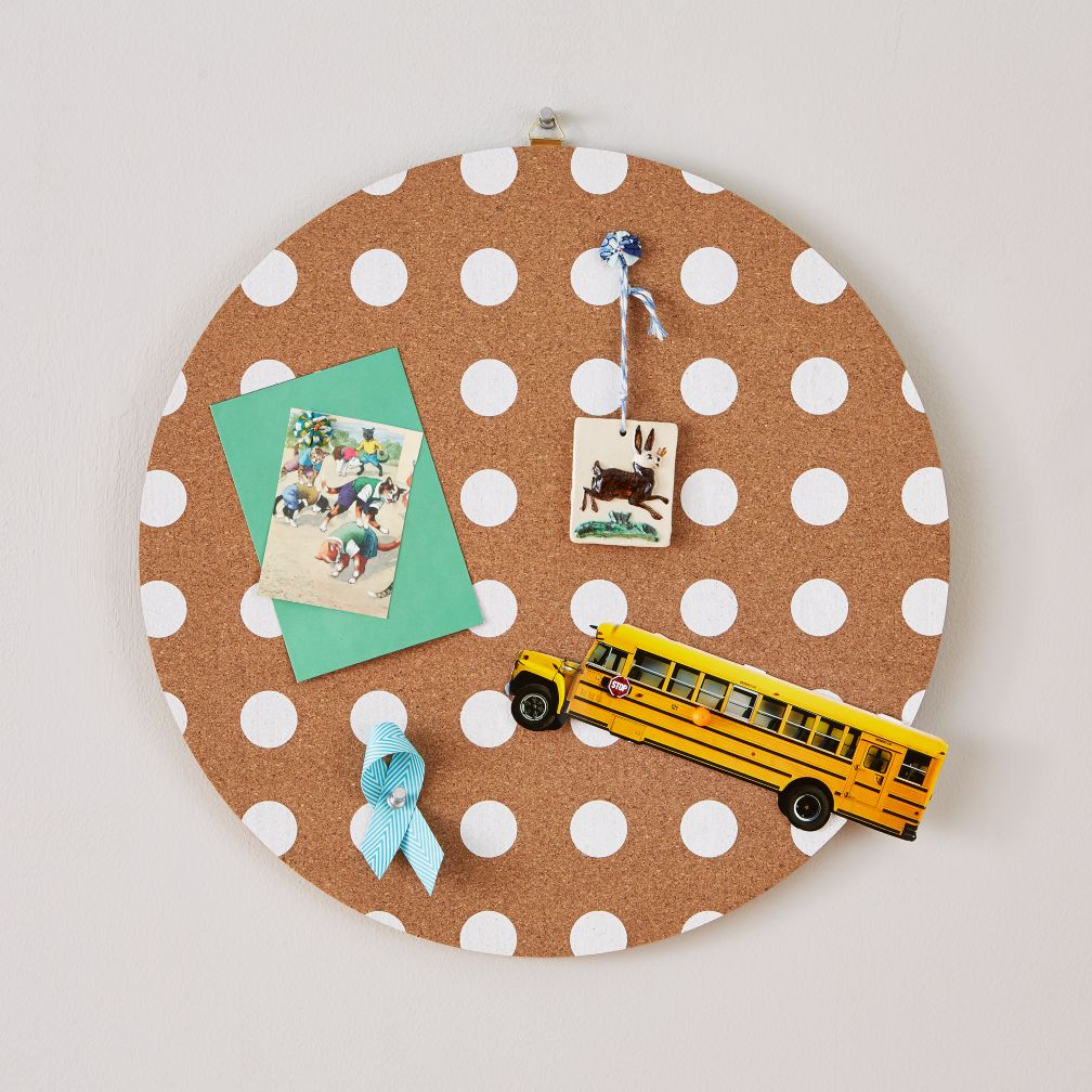 "16"" Perfect Circle Corkboard (Dot)"