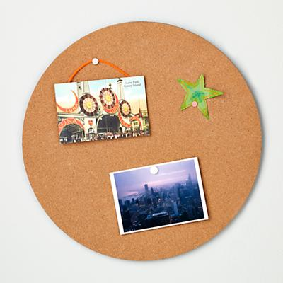 Perfect Circle Corkboard