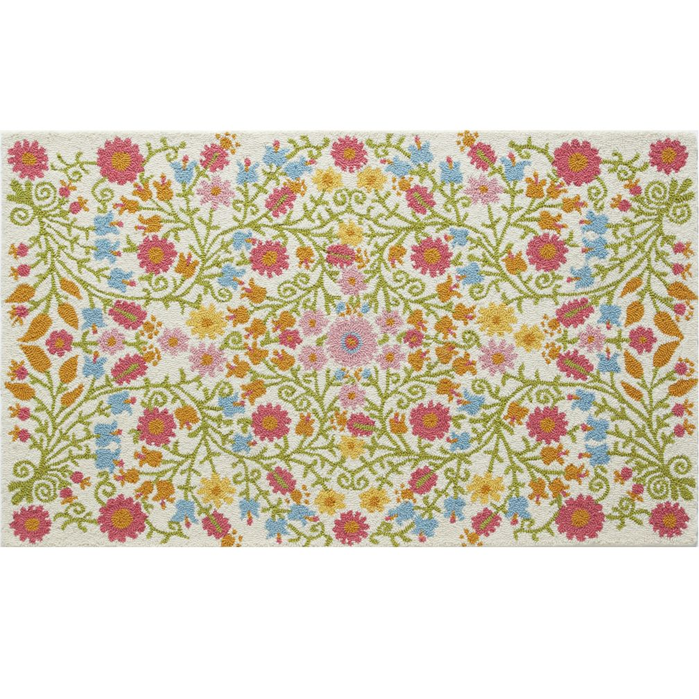 8 x 10' Better Floors and Gardens Rug (Cream)