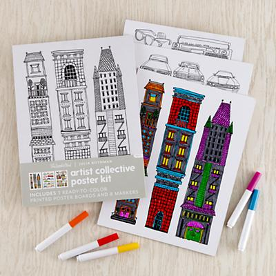 Artist Collective Poster Kits (Julia Rothman)
