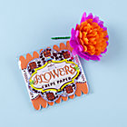 Orange Paper Flowers Kit
