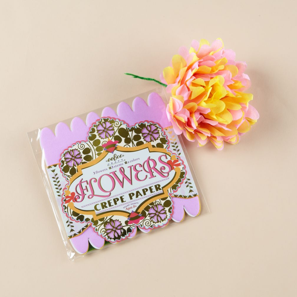 Pink Paper Flowers Kit