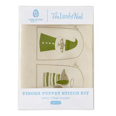 Holiday Finger Puppet Stitch Kit