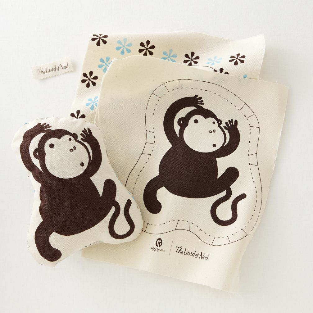 Pillow Stitch Kit (Monkey)
