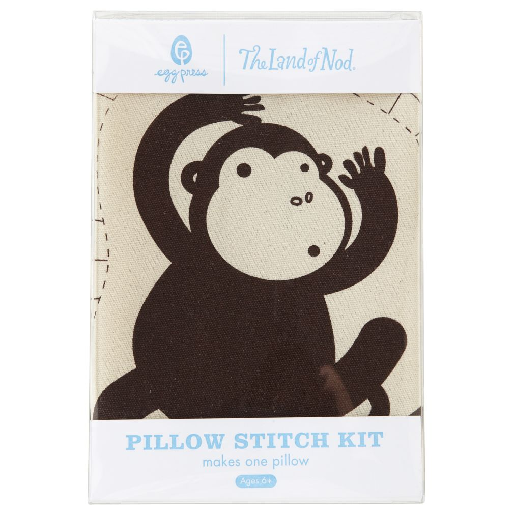 Monkey Pillow Stitch Kit