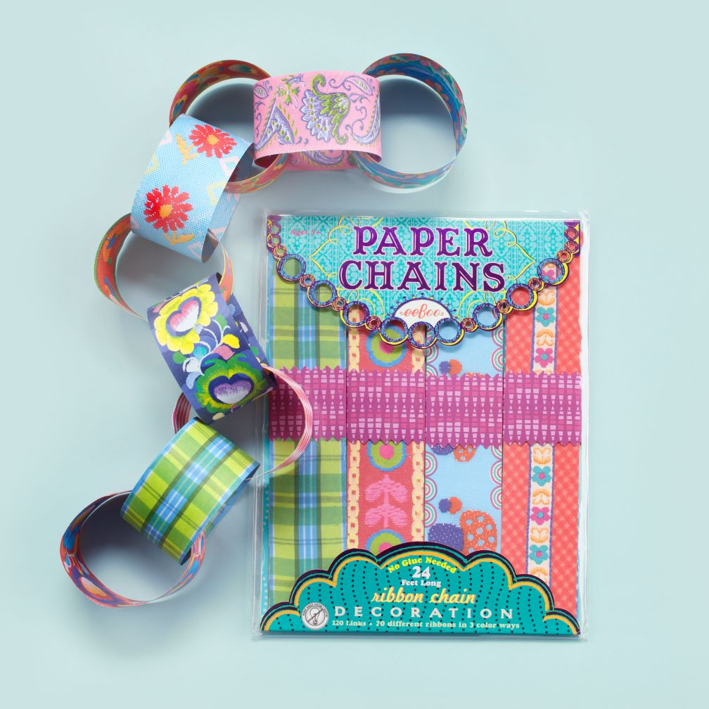 Flowers Paper Chain Kit