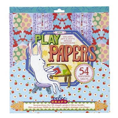 Snowflakes Play Craft Papers