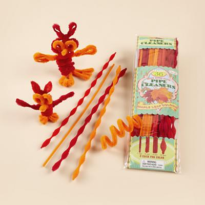 Orange Pipe Cleaners