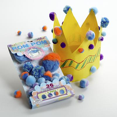 Blue Crab Pom Pom Craft Kit
