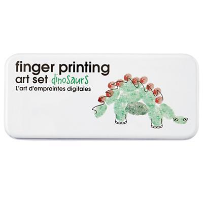 Dino Fingerprint Art Set