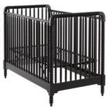 Jenny Lind Crib (Black)