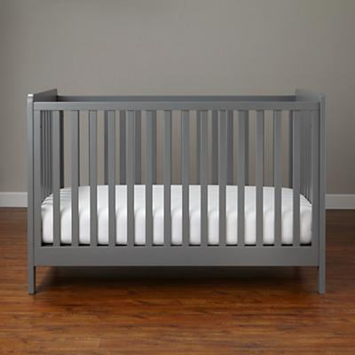 Modern Wooden Carousel Baby Crib Grey The Land Of Nod