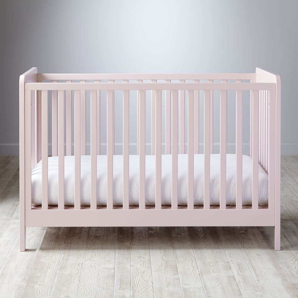 Carousel Crib (Blush)