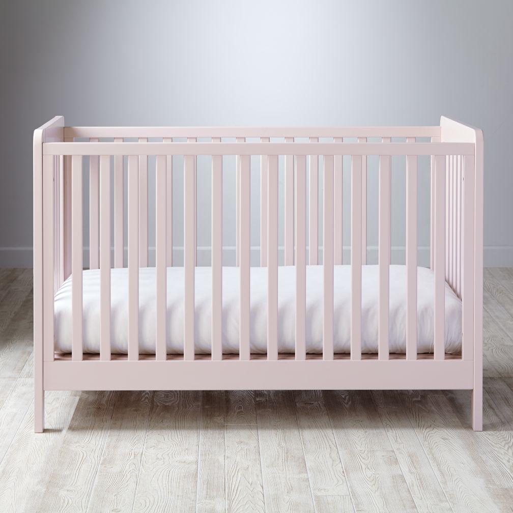 Carousel Crib (Blush)