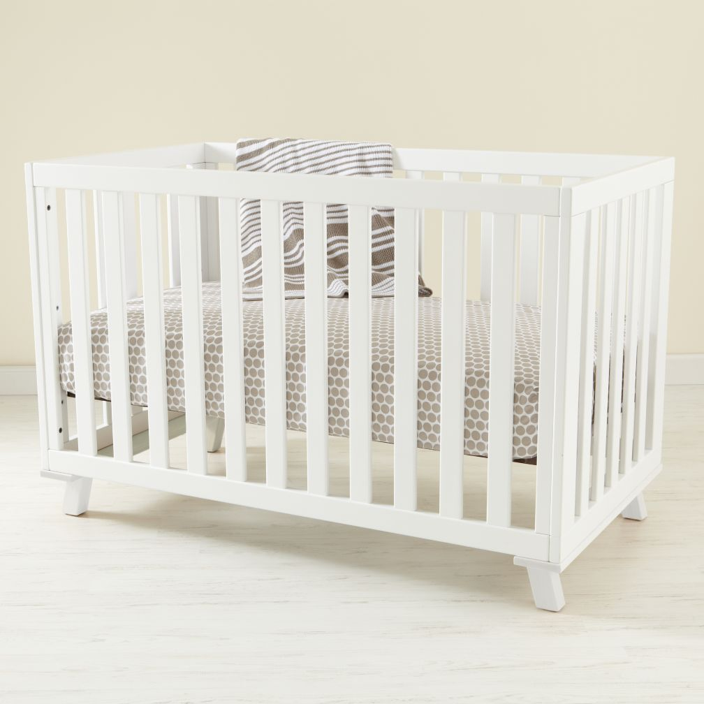 Low-Rise Crib (White Frame with White Base)