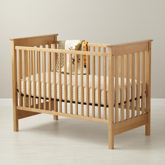 Baby cribs baby solid natural straight up crib in cribs