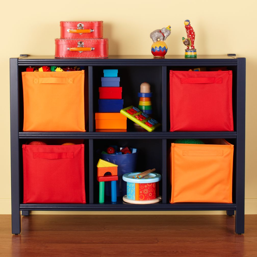 6-Cube Bookcase (Midnight Blue)