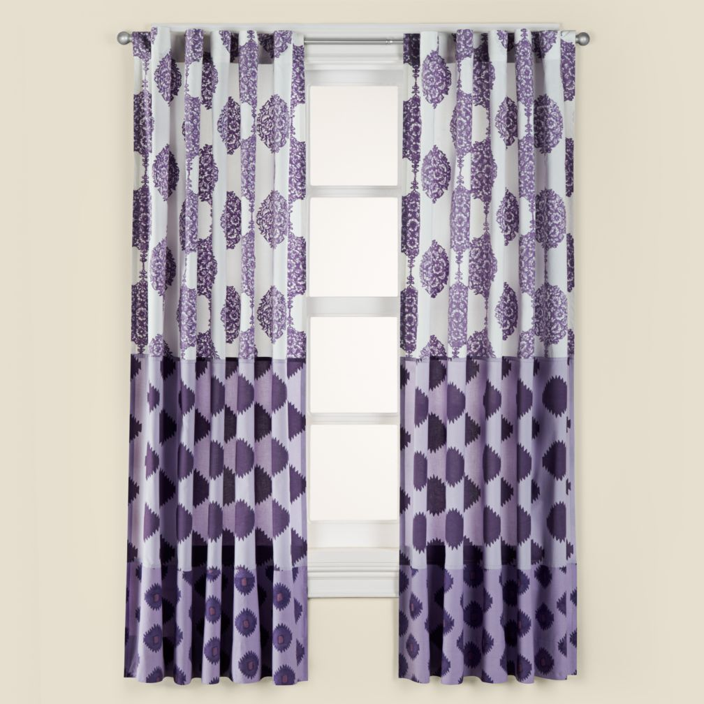 84&quot; Bazaar Curtain Panel