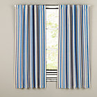 "63"" Blue/Yellow Side Striped Blackout Panel"