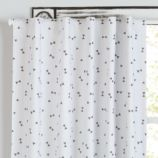 "84"" Go Lightly Blackout Curtain (Grey Triangle)"