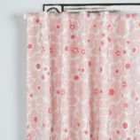 """63"""" Go Lightly Curtain  (Pink Floral)"""
