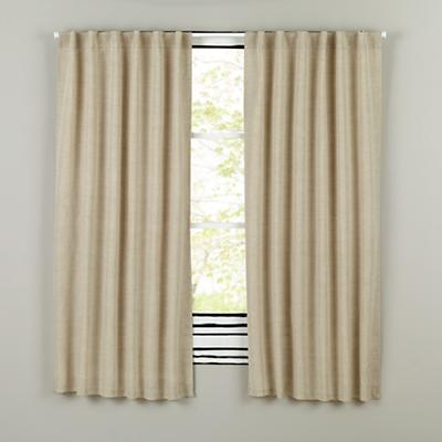 "63"" Fresh Linen Curtain Panel (Natural)"