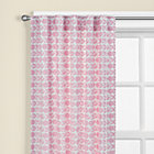 "63"" Pink Floral Curtain Panel(Sold individually)"
