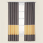 "84"" Yellow Striped Panel"