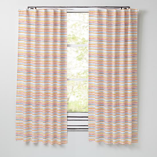 Chance Of Rainbow Curtains The Land Of Nod