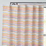 "96"" Chance of Rainbow Curtain Panel"