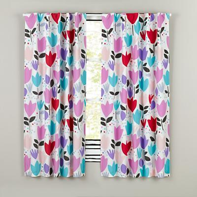 Tulip Festival Blackout Curtains