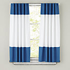 63&amp;quot; Blue Color Edge Curtain Panel (Sold individually)