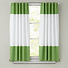 "63"" Green Color Edge Curtain Panel (Sold Individually)"