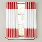 "84"" Pink Color Edge Curtain Panel (Sold individually)"