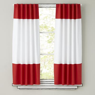 Red And White Patterned Curtains Red and White Pattern