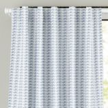 "63"" Fine Prints Curtain Panel (Blue Fish)"