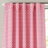 Fine Prints Curtain Panel (Pink Hearts)