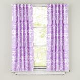 Sleep Patterns Curtain Panels (Lavender)
