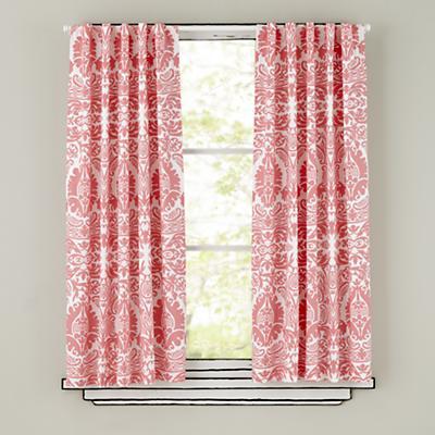 "84"" Sleep Patterns Curtain Panels (Pink)"