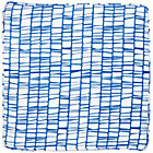 Blue Modern 1-Cube Bench Cushion
