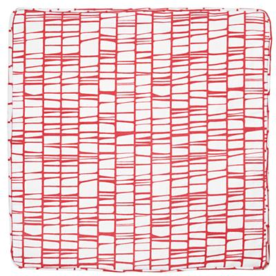Modern 1-Cube Bench Cushion (Pink)