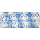 Blue Modern 3-Cube Bench Cushion