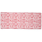 Pink Modern 3-Cube Bench Cushion
