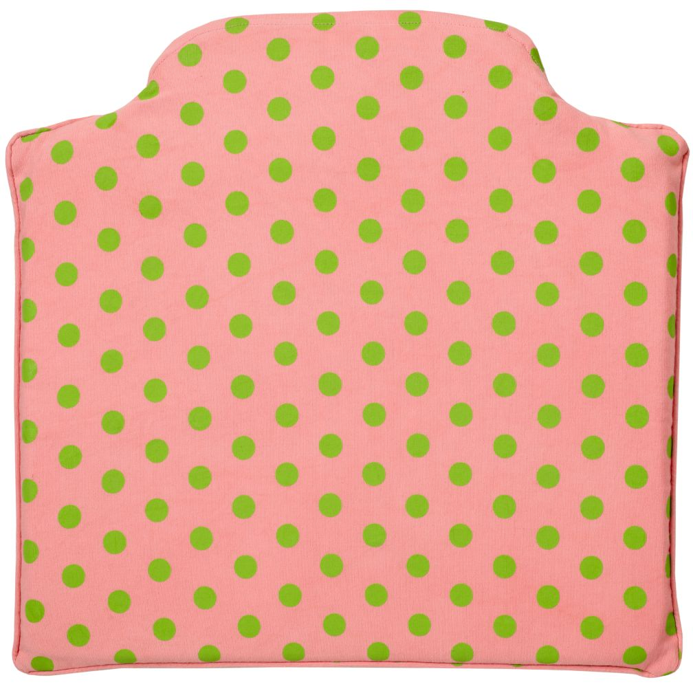 Chelsea Play Chair Cushion (Pink Dot)
