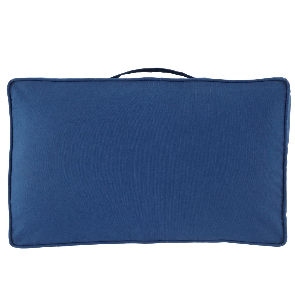 22&quot; Laying Low Cushion (Blue)