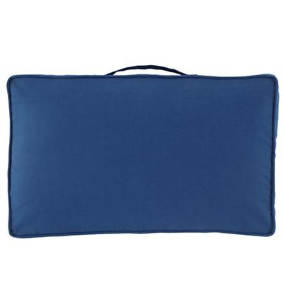 "22"" Laying Low Cushion (Blue)"